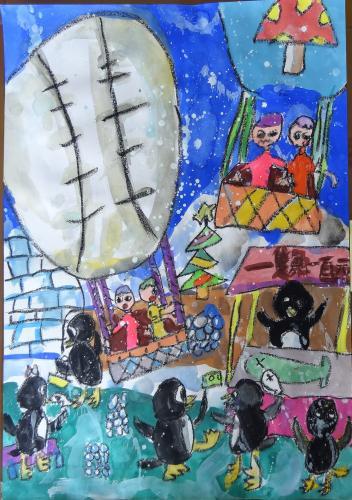 熱氣球探險-朱立玄